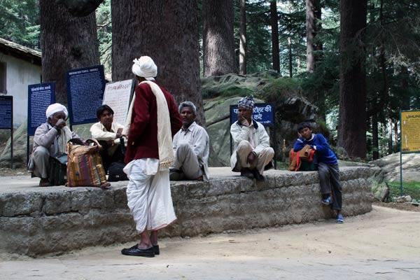 Podróz po Indiach<br /> Park w Manali, Himachal Pradesh.
