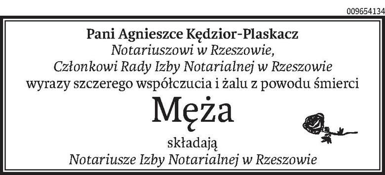 Nekrologi i Kondolencje z dnia 10 kwietnia 2020 roku