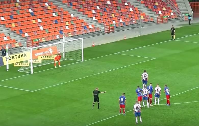 Fortuna 1 Liga. Skrót meczu Podbeskidzie Bielsko-Biała - Odra Opole 3:1 [WIDEO]