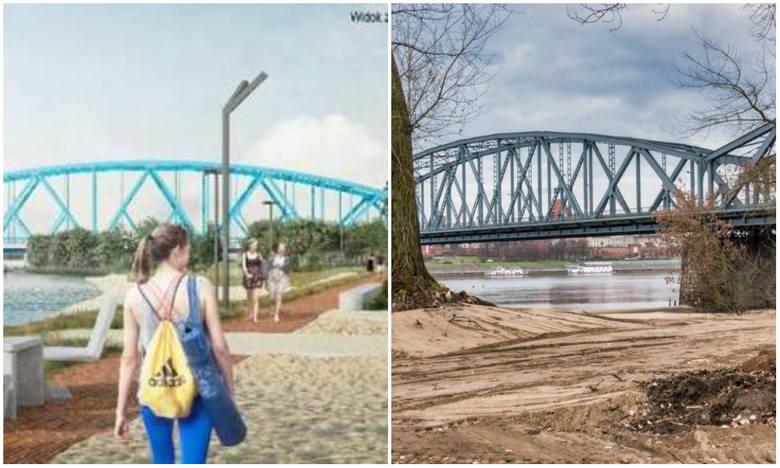 Od wiosny 2020 roku mieszkańcy Torunia będą mogli korzystać z plaży usytuowanej obok Zamku Dybowskiego. Prace związane z przygotowaniem terenu są już