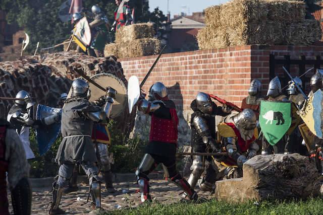 Wielka bitwa o toruński zamek już dziś! [PROGRAM]