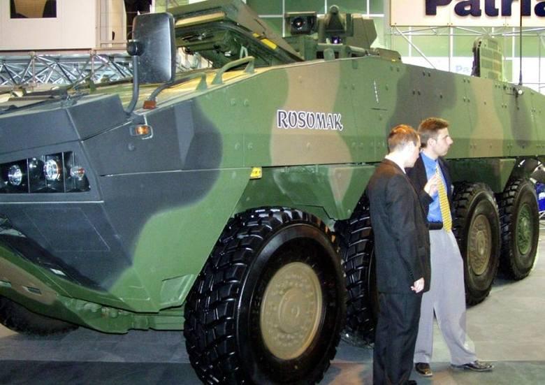 Pancerne Borsuki wyjadą ze Stalowej WoliHSW będzie uczestniczyć w programie modernizacji Rosomaka.