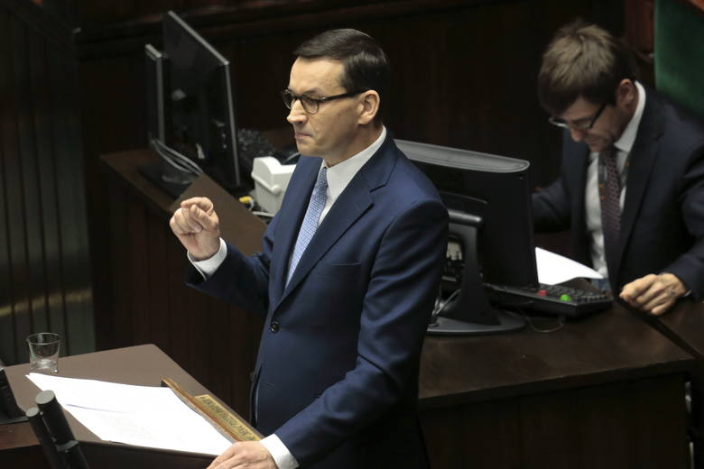 W expose premier Mateusz Morawiecki konkretnie do obietnic 13. i 14 emerytury nie odniósł się .