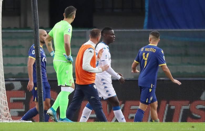 Balotelli chciał przedwcześnie zejść z boiska