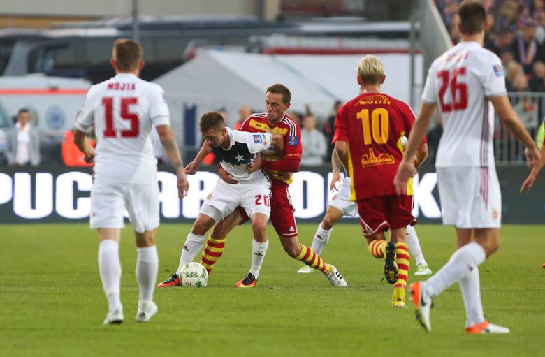 Trzy sezony w I lidze; obecny to czwarty. Chojniczanka zdobyła w tym okresie 147 bramek. W najbliższych meczach można spodziewać się jubileuszowej..