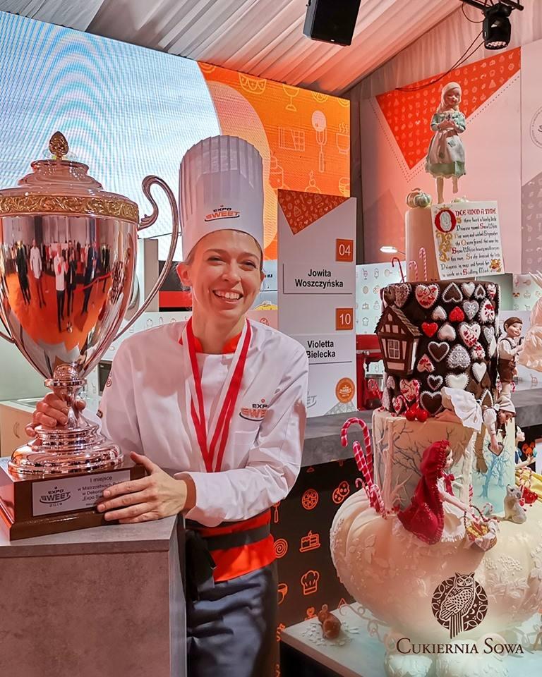 A takim oto tortem Jowita Woszczyńska wygrała w lutym Mistrzostwa Polski