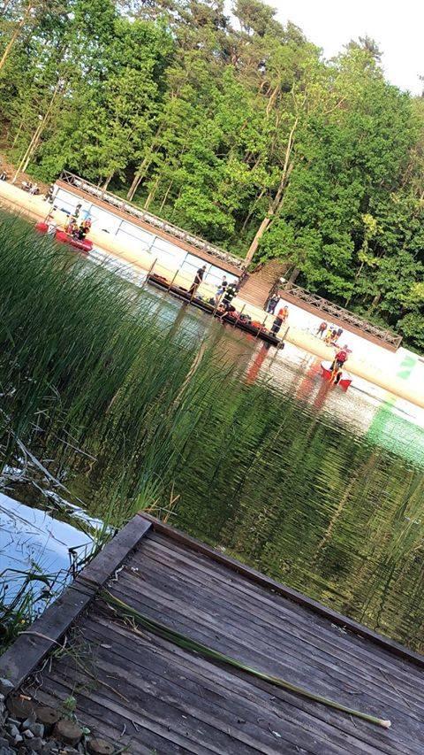 Nad jeziorem Długim utopiło się dziecko