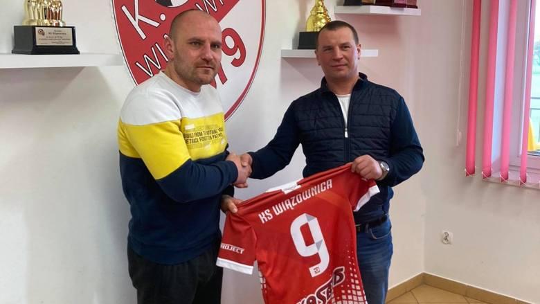KS Wiązownica ogłosił kolejny transfer. Drużynę podkarpackiego 3-ligowca wzmocnił Wojciech Trochim