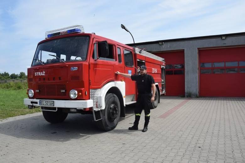 Jelcz z Wiskitna to najstarszy w Łodzi samochód gaśniczy [zdjęcia]