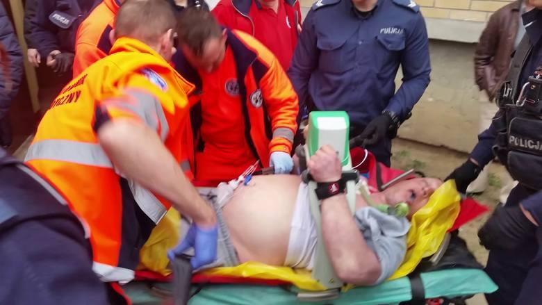 Interwencja policji na Barszczańskiej w Białymstoku. Paweł Klim zmarł w szpitalu