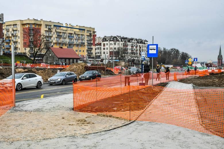 Okolice ronda Kujawskiego to wciąż niebezpieczne miejsce