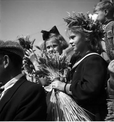 Hucznie, z rozmachem i na ludowo - tak organizowano dożynki w Polsce Ludowej. Na igrzyska dla ludu szły potężne sumy, do wydarzenia przygotowywano się