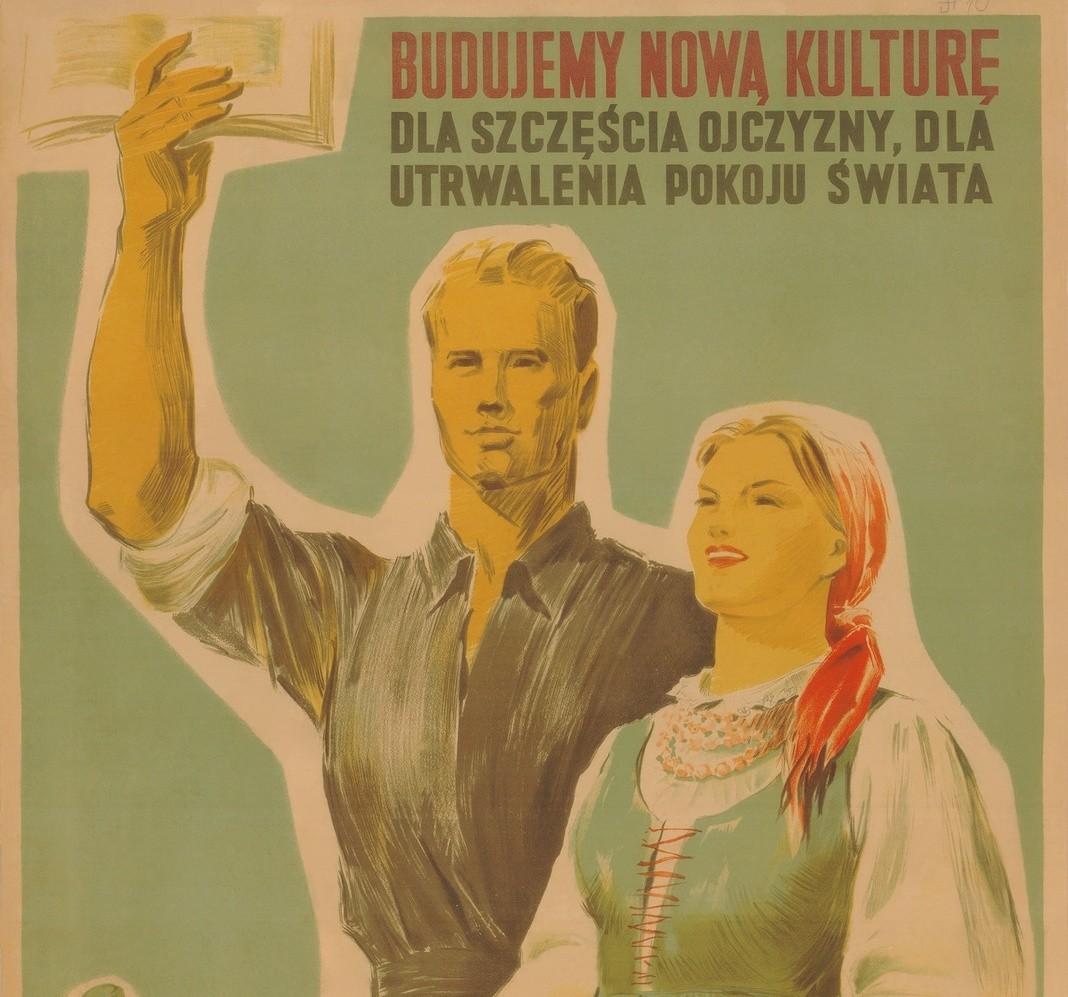 Znalezione obrazy dla zapytania kultura plakat prl