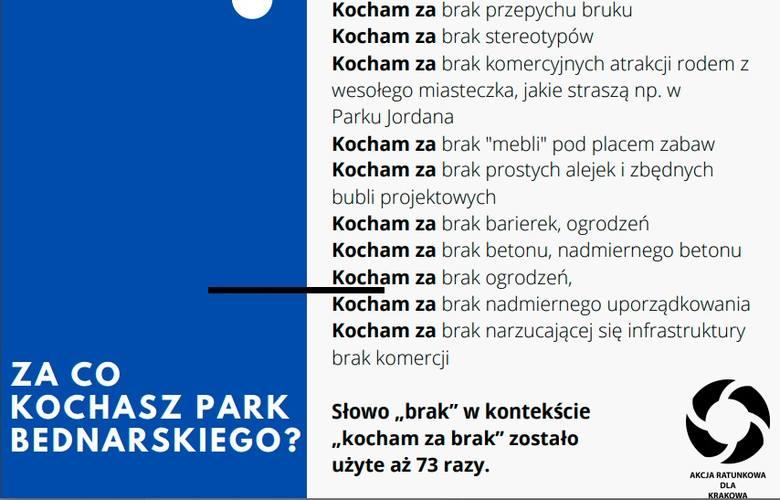 Gorąco wokół parku Bednarskiego. Ponad tysiąc osób nie chce remontu zgodnie z wizją Zarządu Zieleni Miejskiej