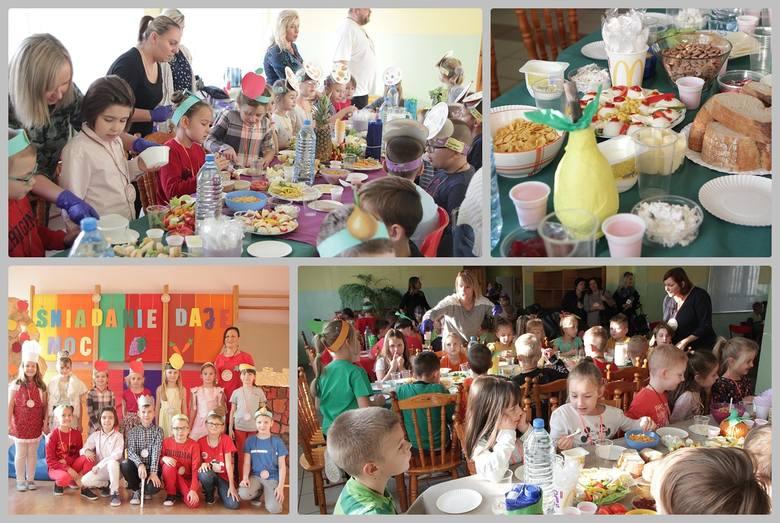 """""""Śniadanie daje moc"""" - ta akcja od wielu lat wpisała się już w kalendarz imprez szkolnych. """"Gazeta Pomorska"""" odwiedziła w czwartek Szkołę Podstawową"""