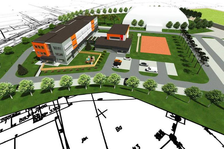 Wieliczka. Rusza budowa miejskiego centrum edukacyjnego dla 500 uczniów. Powstaną szkoła i przedszkole