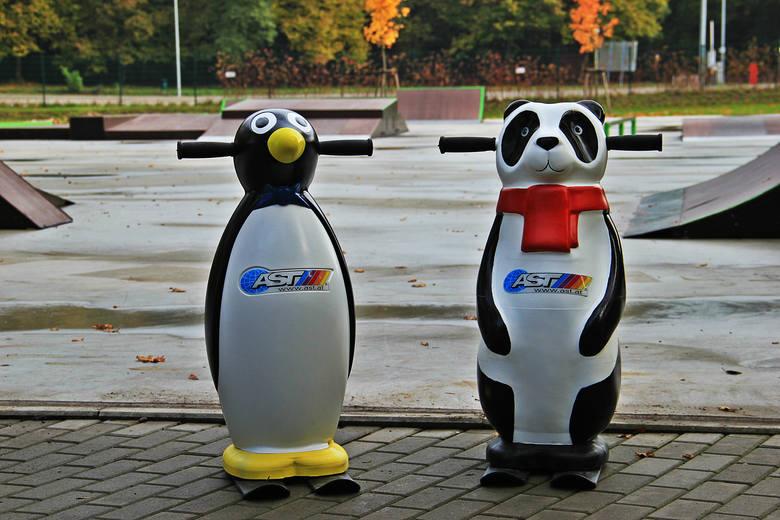Dzieci nauczą się jeździć na łyżwach na... miśkach i pingwinach