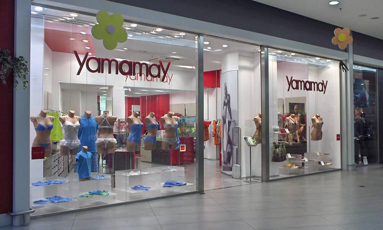6a7d01b4 Tych sklepów we Wrocławiu jeszcze nie było. Będą we Wroclavii. Yamamay –  włoska marka specjalizująca się w kobiecej bieliźnie. Biustonosze kosztują  od 100 ...