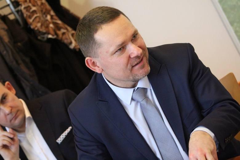 """Grzegorz Widenka, prezes zielonogórskiego oddziału Polska Press, wydawcy """"Gazety Lubuskiej"""","""