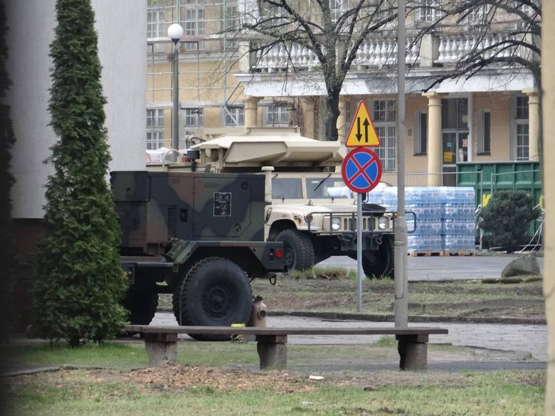 Amerykański sprzęt do Poznania zaczął trafiać już miesiąc temu