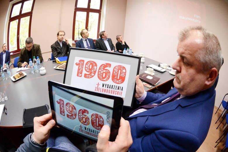 Pierwsze spotkanie organizacyjne w sprawie Wydarzeń Zielonogórskich w redakcji Gazety Lubuskiej.
