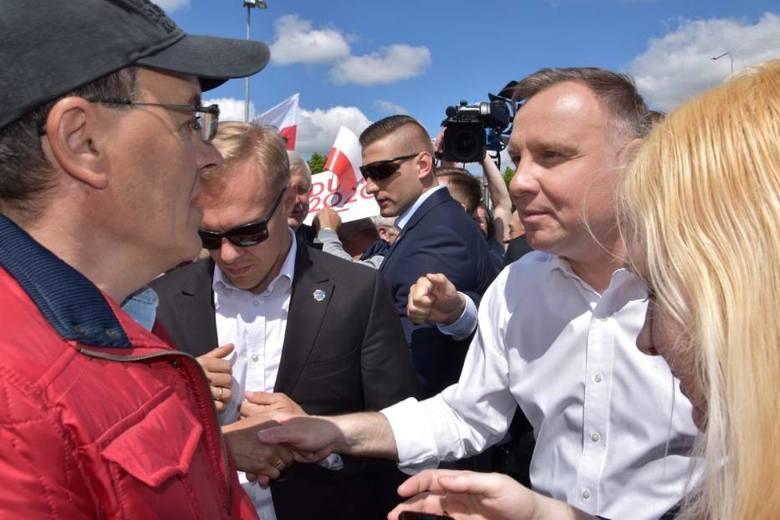 Andrzej Duda w Kościerzynie. 9.06.2020 r.