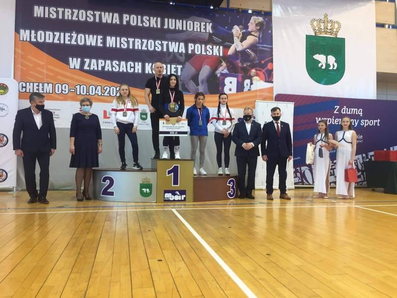 Lubelskie nie miało sobie równych w klasyfikacji generalnej zapaśniczych mistrzostw Polski. Zobacz zdjęcia