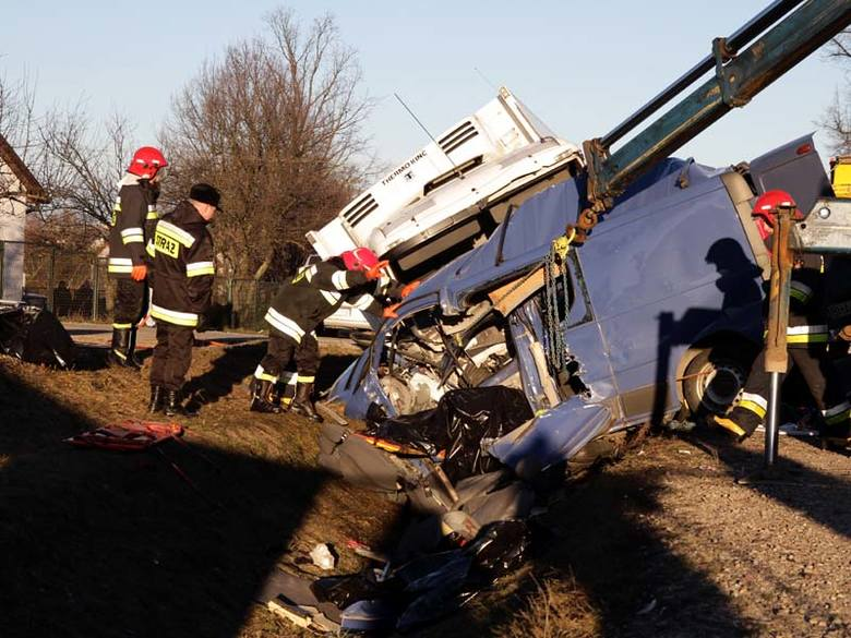 W wypadku zginęło sześciu mężczyzn