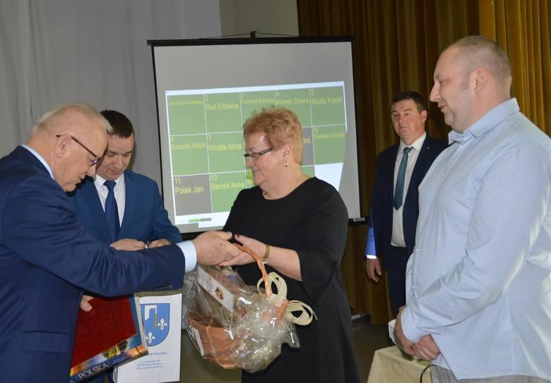 Teresa Obora (w środku) była sołtyską w Gruszowie 30 lat