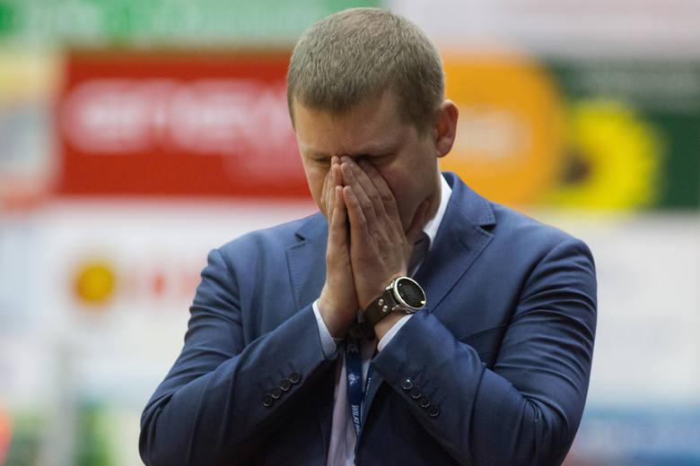 Szczecin 07 03 2017polska liga koszykowki mecz king szczecin kontra rosa radomna zdjeciu michal sokolowski russell robinsonfot.andrzej szkocki/ polska