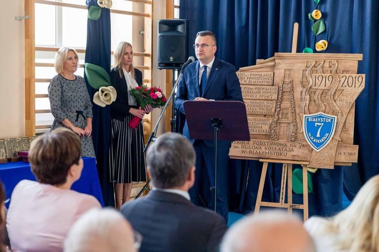 100-lecie Szkoły Podstawowej nr 7 w Białymstoku