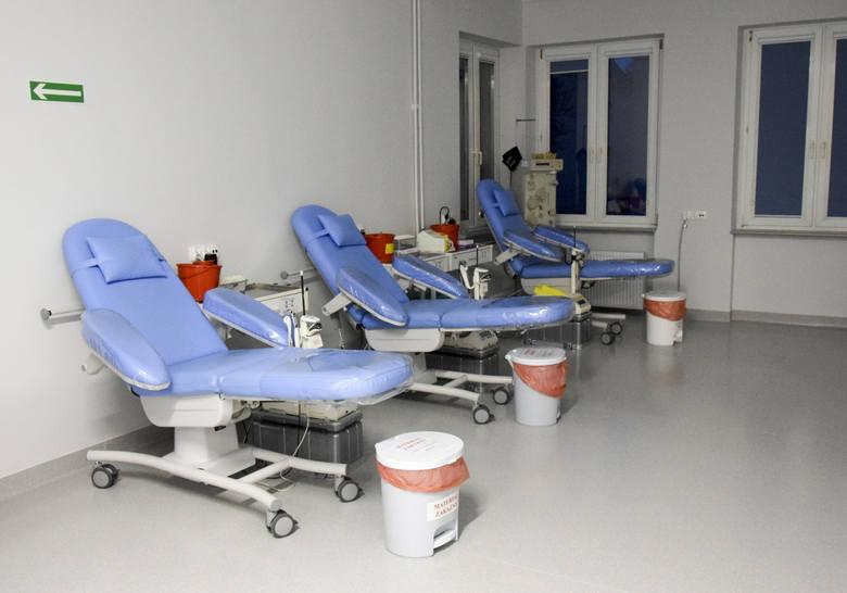 Centrum Krwiodawstwa i Krwiolecznictwa w Słupsku przyjmuje dawców w odnowionej przestrzeni swojej siedziby.