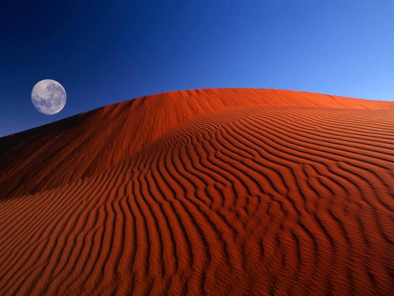 Choć fotografia wykazuje niezwykłe podobieństwo do wydm na pustyni w Namibii, jej autentyczność jest mocno wątpliwa. Nie ulega wątpliwości, że zdjęcie