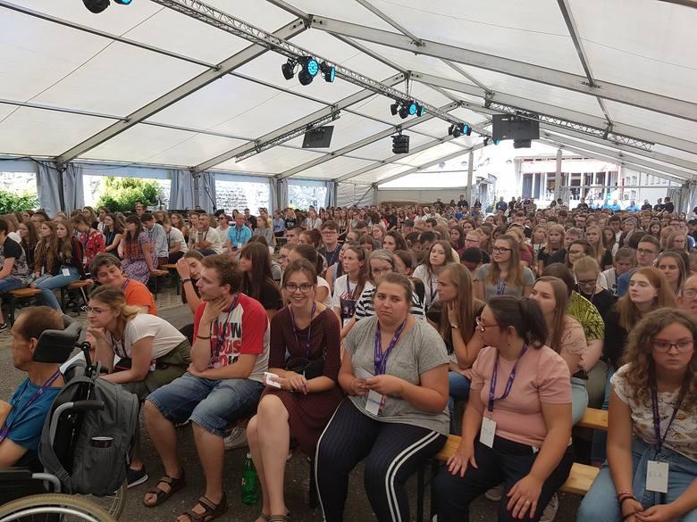 Święto Młodzieży 2019. 700 osób z różnych stron Polski spotkało się na Górze św. Anny
