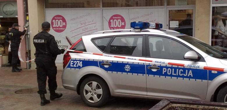 Napad na bank w Zielonej Górze. Policja szuka bandyty (szczegóły)