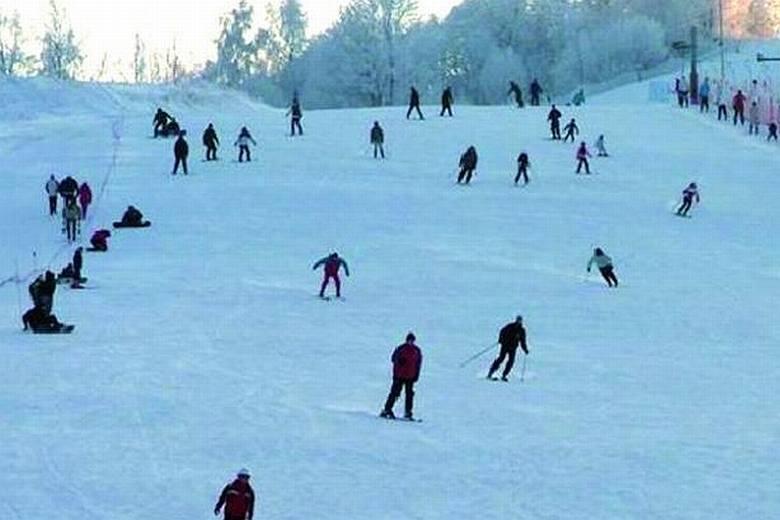 40 kilometrów tras narciarskich