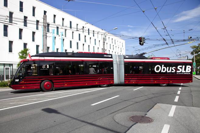 Trolejbusy Solarisa jeżdżą już w Salzburgu