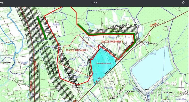 Nowa kopalnia siarki w Rudnikach koło Połańca. Znamy dokładne plany (MAPA)