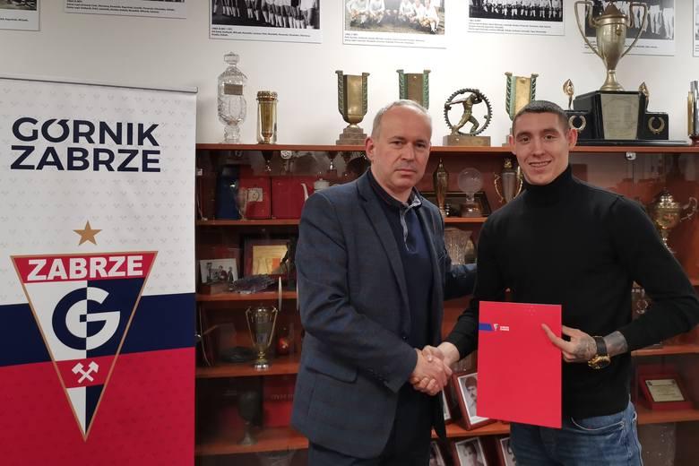 Erik Jirka to nowy zawodnik Górnika Zabrze