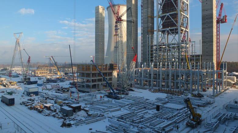 Nowe bloki w Elektrowni Opole zrealizowane w ponad 30 procentachBudowa dwóch bloków realizowana przez PGE Górnictwo i Energetyka Konwencjonalna jest