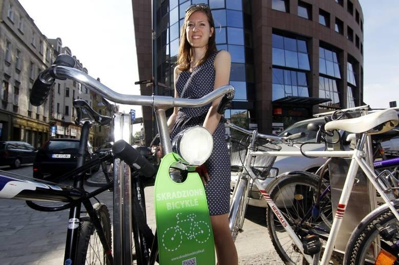 Kolejna akcja Skradzionych Bicykli. Tym razem o przypinaniu rowerów (FOTO)