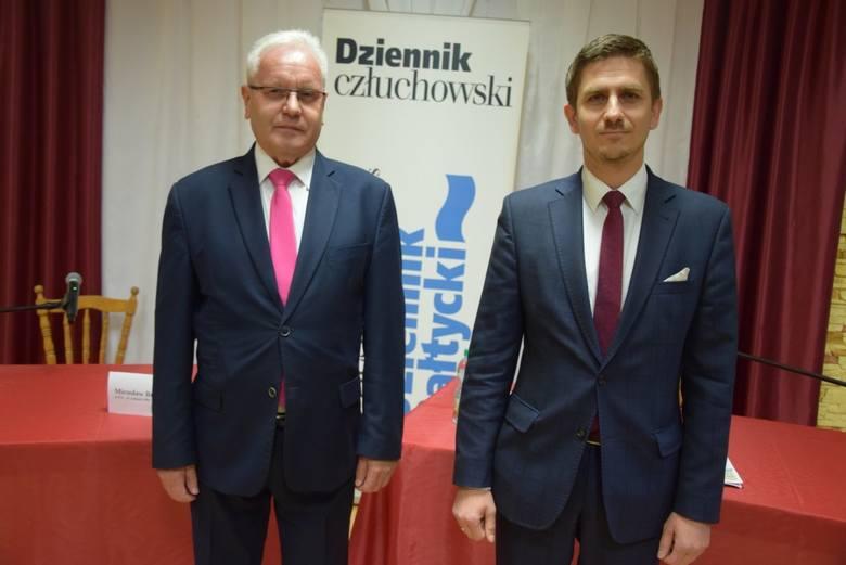 Siedziba Stowarzyszenia na Rzecz Rozwoju Miasta i Gminy Debrzno, godz. 18, debata z kandydatami na burmistrza Debrzna