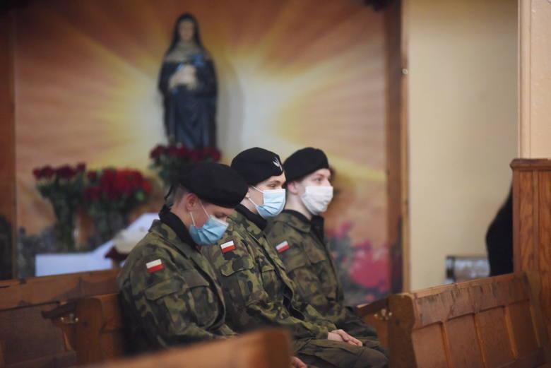Obchody Dnia Pamięci Żołnierzy Wyklętych w Nowym Miasteczku, 1 marca 2021 r. Było inaczej, niż co roku, ale nie mniej uroczyście.