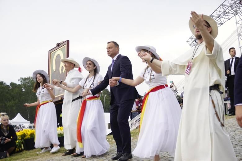 Spotkanie Młodych z udziałem prezydenta Andrzeja Dudy w 2018 roku