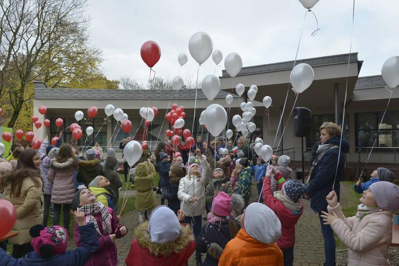 Balony z życzeniami dla Polski [zdjęcia]