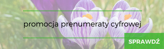 Zaczytaj się na wiosnę! Teraz prenumerata 30% taniej >>