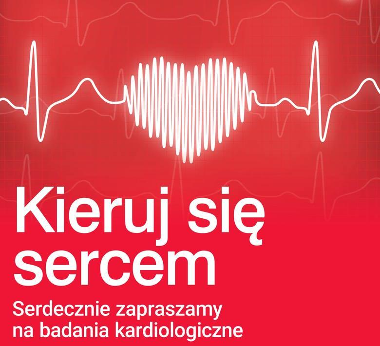 """Choroby serca nie muszą być """"cichym zabójcą""""! Bezpłatne badania kardiologiczne w 76 miastach Polski"""