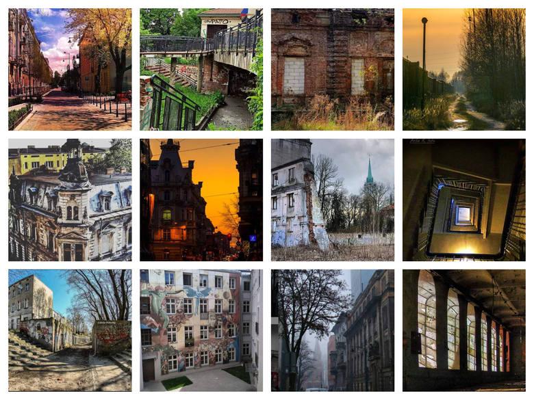 Łódź jednych zachwyca, innych odpycha. Zdjęcia zamieszczone na Instagramie na profilu Łódzkie Podwórka sprawiają, że w Łodzi można się znów zakochać.
