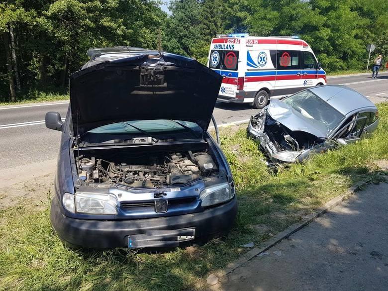 Zniszczone samochody