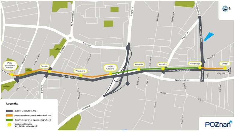 Poznań: Tramwaj na Naramowice pojedzie 8 minut. Sprawdź, gdzie będę przystanki